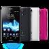 Harga Sony Xperia TX, Xperia V, Xperia E di Indonesia