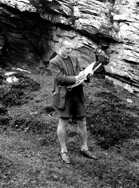 Edward Battersby Bailey as field geologist