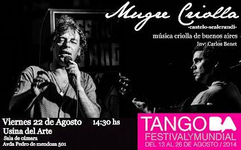 Mugre Criolla en el Festival de Tango BsAs 2014