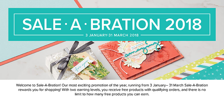 2018 Sale-a-bration Catalogue