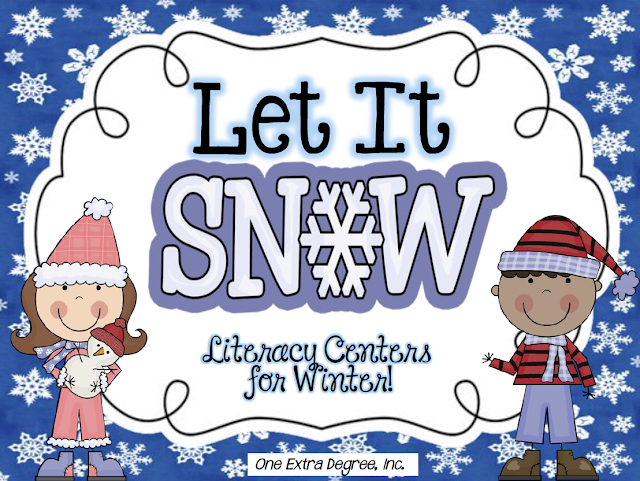 http://www.teacherspayteachers.com/Product/Let-it-Snow-Literacy-Centers-for-Winter-Common-Core-Correlated-438920