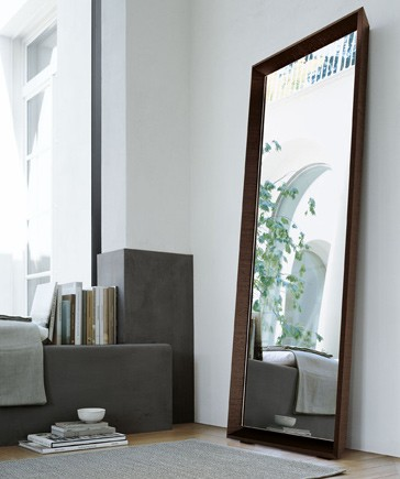 A Reflective Interior With Glass And Mirrors Home Appliance