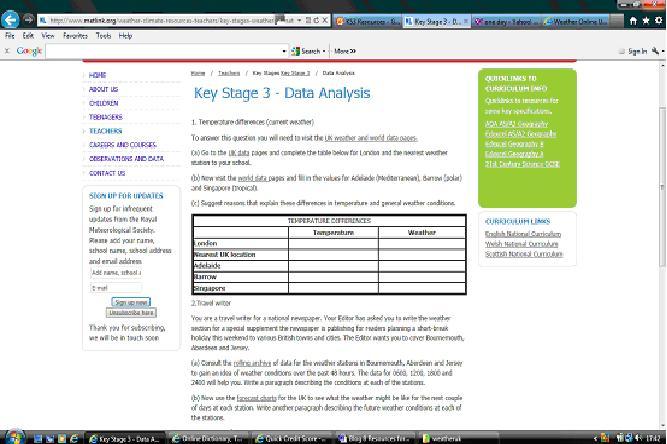 Key stage 3 geography homework help