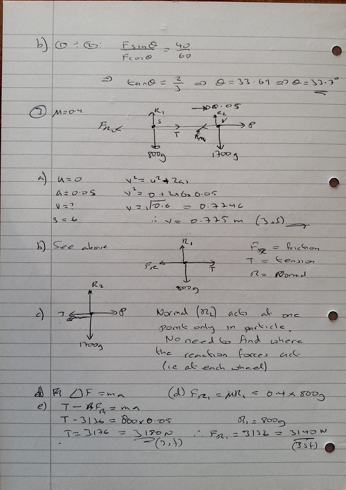 summer 2014 exam 3 answers 4723 mark scheme june 2014 2 question answer marks guidance 3 (i) m1 attempt calculation k y y y( 4 2 ) any constant k using y values with.