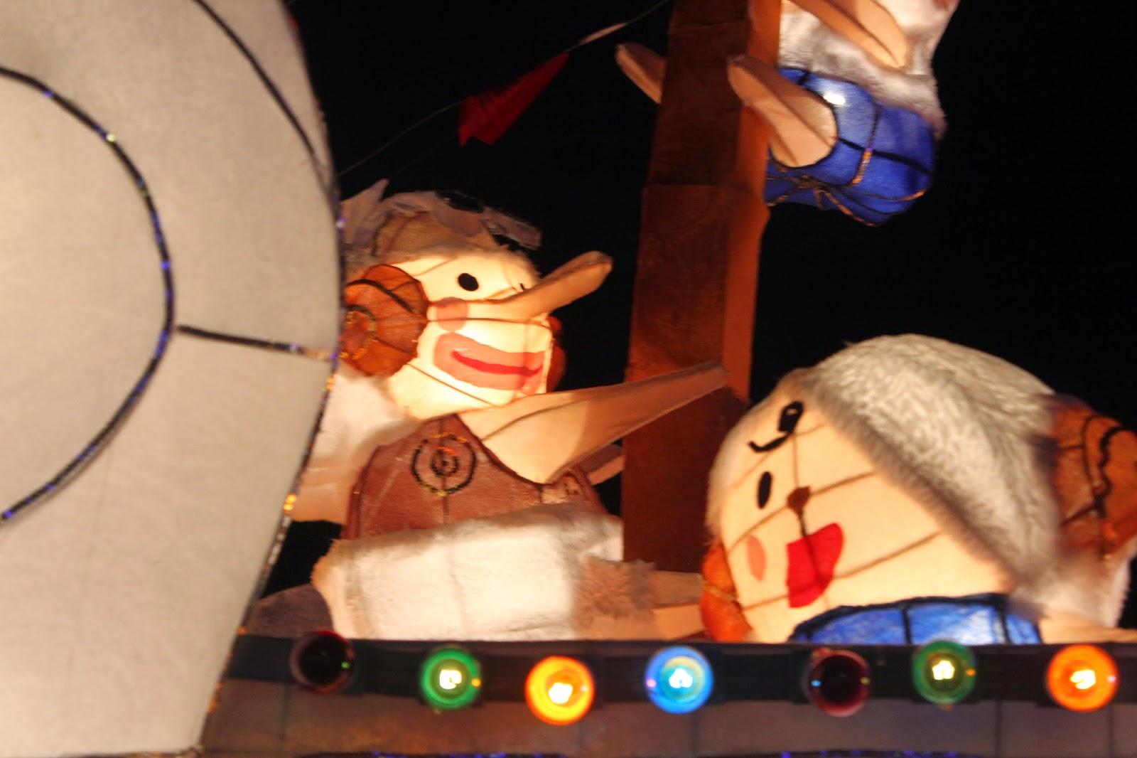 Taipei lantern festival 2015 one piece