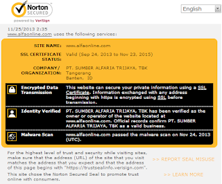 Alfaonline.com Norton Security