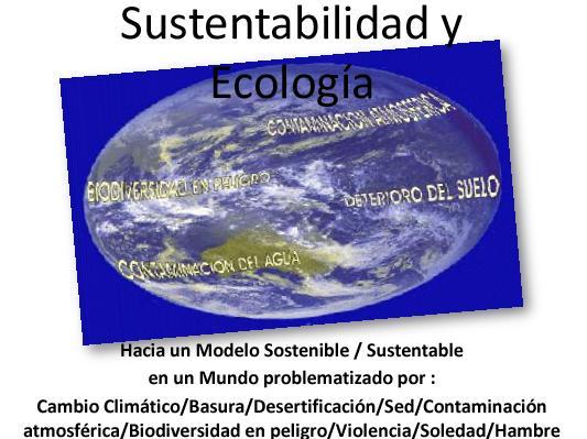 Módulo III La Sustentabilidad