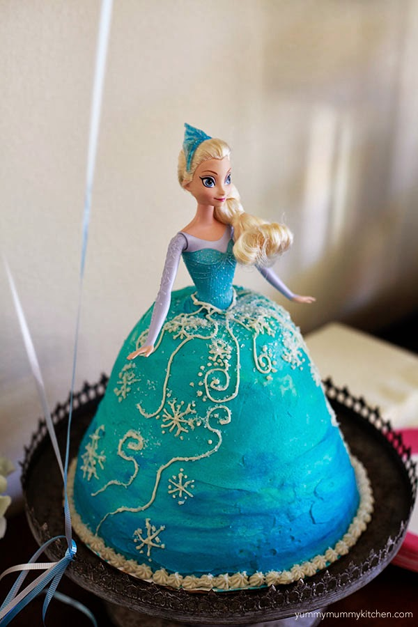 Elsa Cake Decoration Ideas : elsa cake Gallery