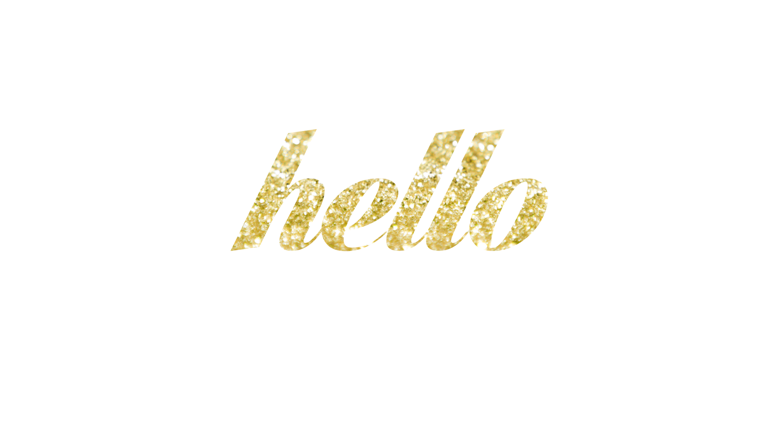 FREEBIES // A GLITTER HELLO - Oh So Lovely Blog