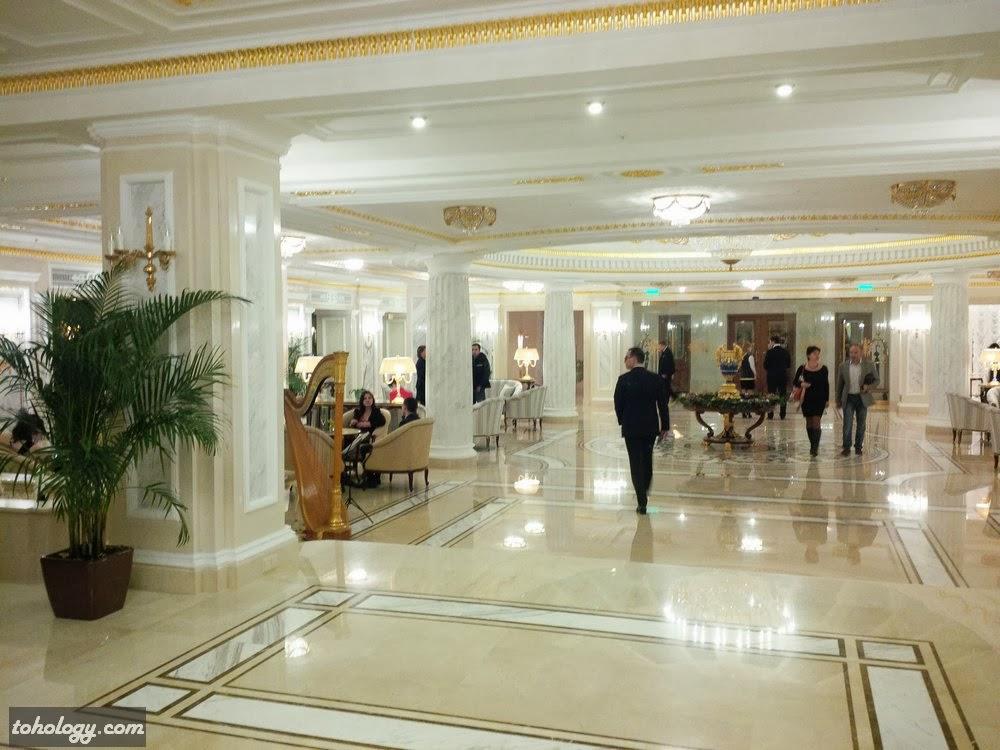 The Official State Hermitage Hotel, lobby // Лобби Официальной Гостиницы Государственного Эрмитажа