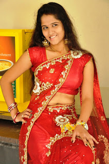 Actress Jayanthi Saree Stills 016