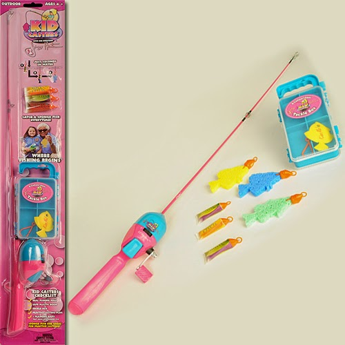 Kid casters giveaway reviewz newz for Kids fishing poles walmart