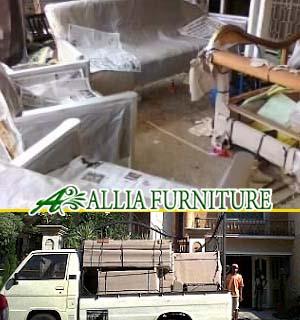 Dilivery Finishing Furniture Melamine