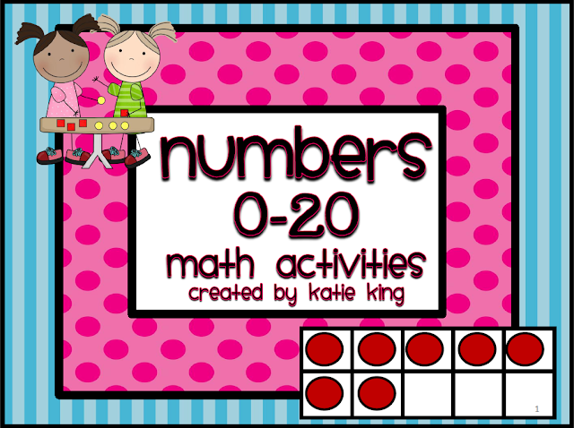 https://www.teacherspayteachers.com/Product/Numbers-0-20-Math-Activities-307547
