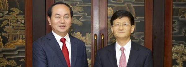 Bộ trưởng CA Trần Đại Quang đột ngột sang Trung Quốc