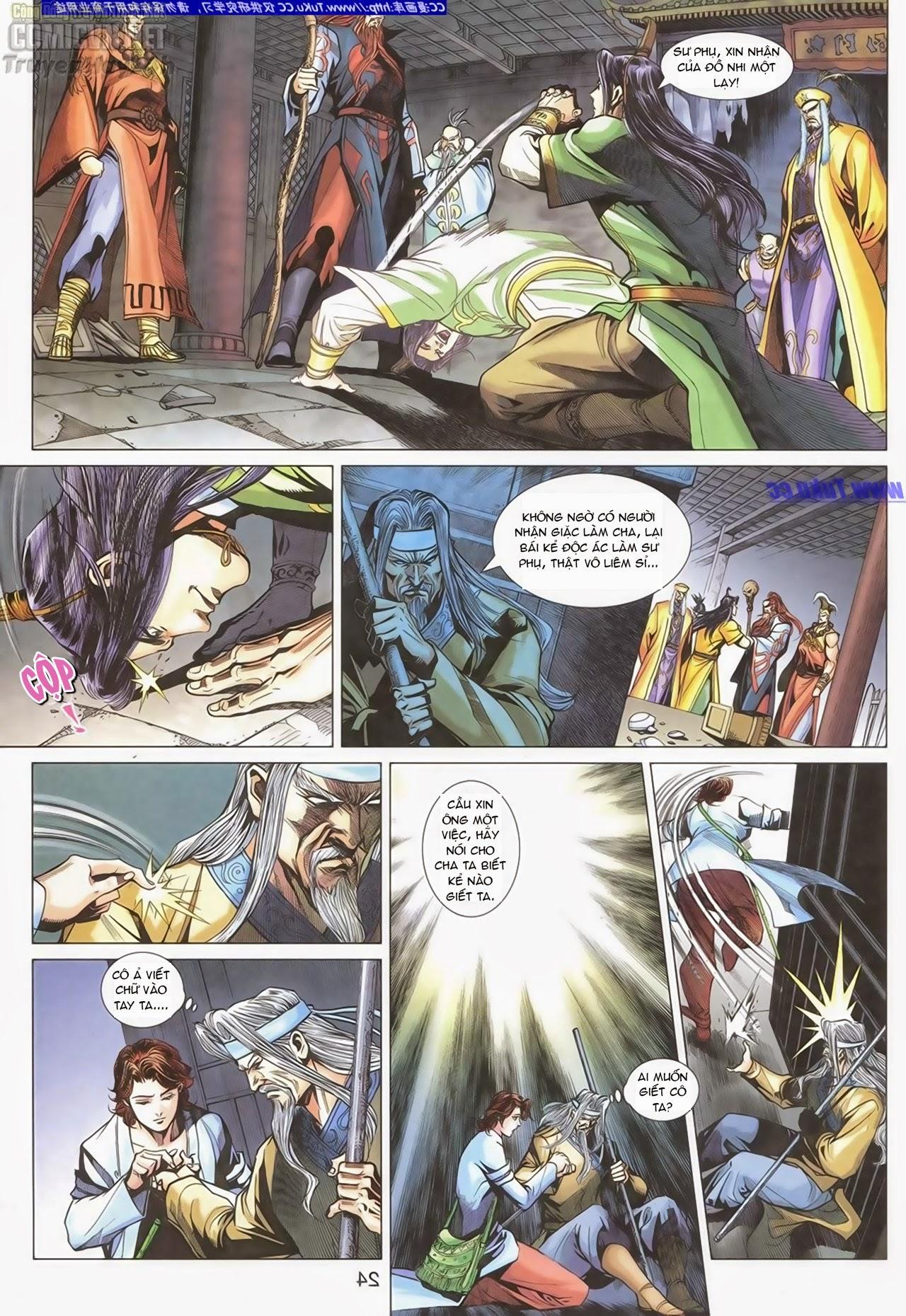 xem truyen moi - Anh Hùng Xạ Điêu - Chapter 89: Thiết Thương Miếu Phong Vân