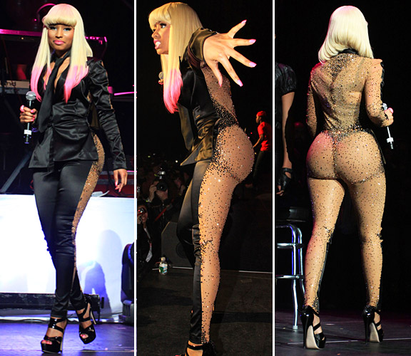 nicki minaj clothes. All the designer clothes can