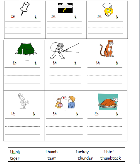 Printables Th Sound Worksheets th sound worksheets plustheapp teach the senior infant adventures in learning