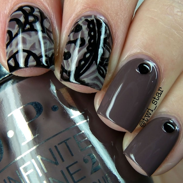 twi-star | Nail Art Blog: OPI Infinite Shine Set in Stone and ...