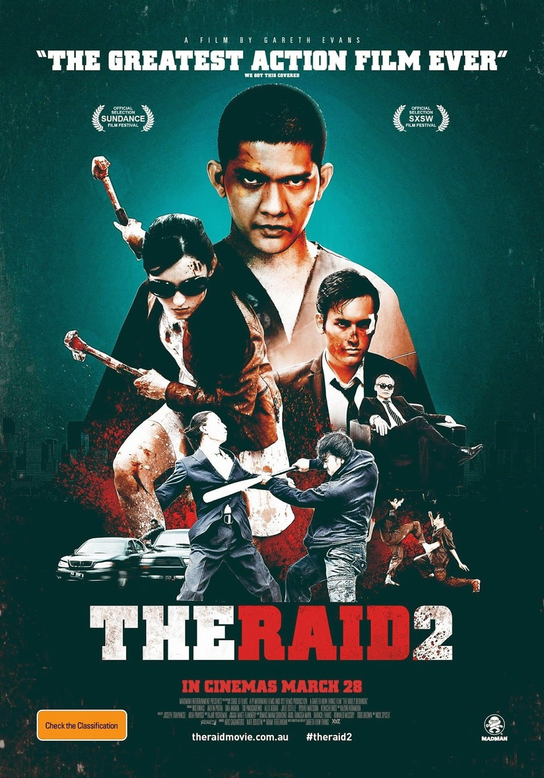 The Raid 2 (2014): watch free movies online