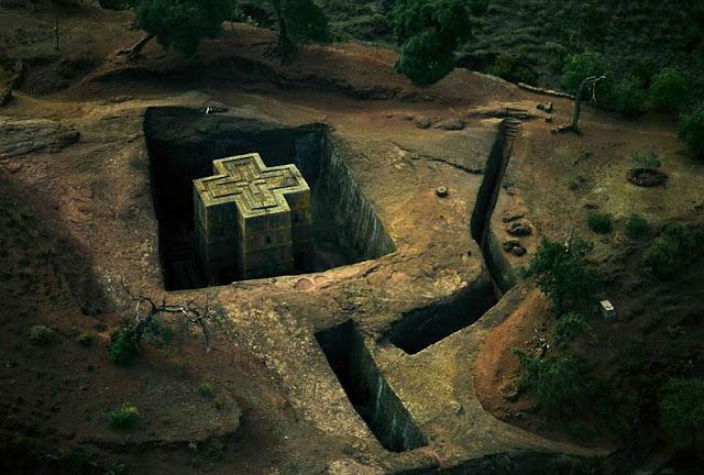 Fotos de África capturadas desde el cielo