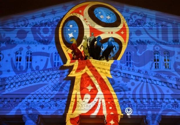 Nga công bố logo World Cup 2018