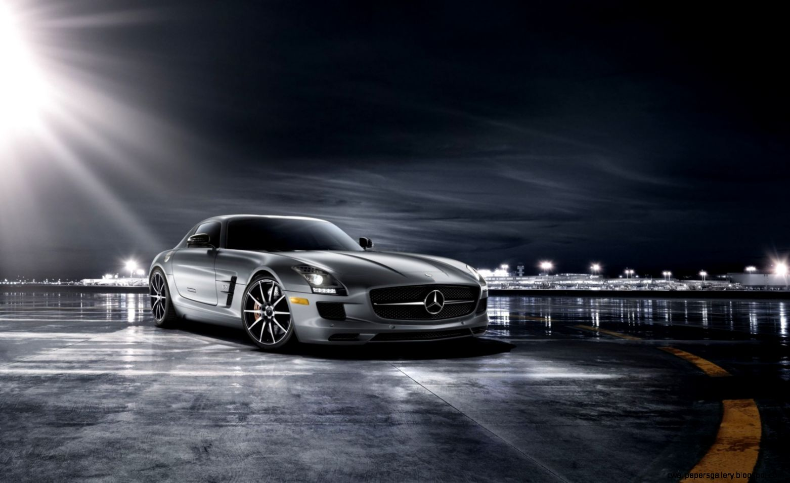 Great Mercedes Benz SLS AMG Wallpaper  Full HD Pictures