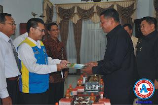 Sensus Pajak tahun 2011, Diawali di Kediaman Bupati dan Walikota Bima