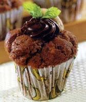Cara Membuat Kue Muffin Coklat Kacang