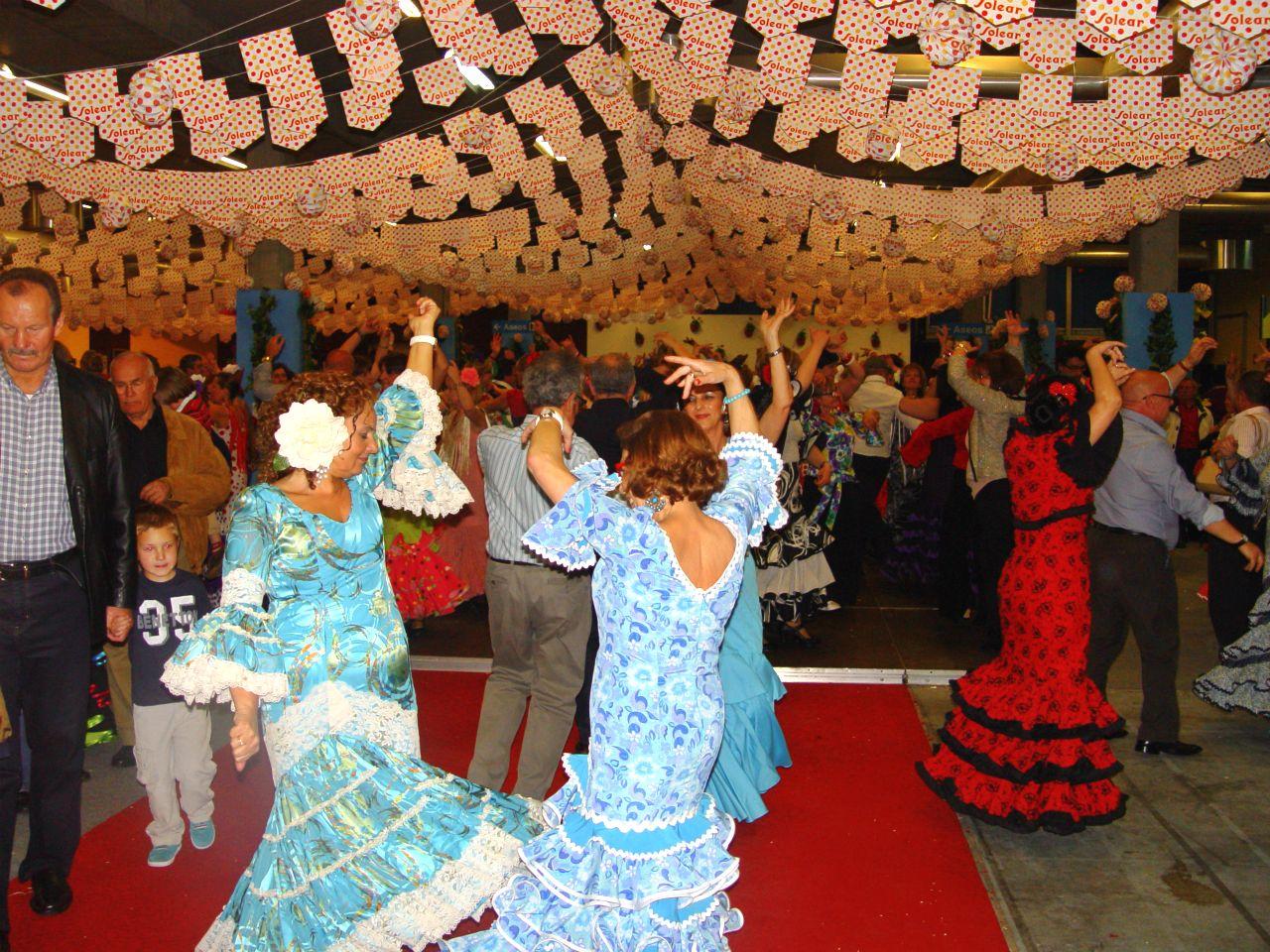 feria abril gijon sevilla flamenco sevillanas
