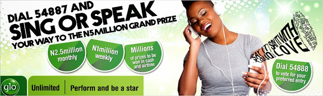 """Glo """"Say It Loud"""" Promo. Win N5M and lots of fantastic prizes."""