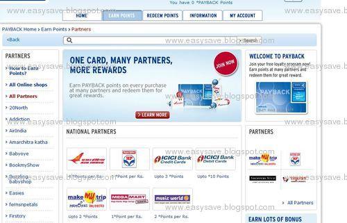 Payback online shops