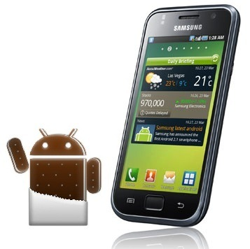 Samsung Galaxy S I900 Ice Cream Sandwich