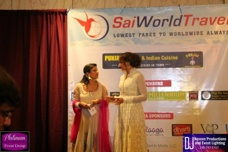 Bipasha Basu at an event in Detroit,USA