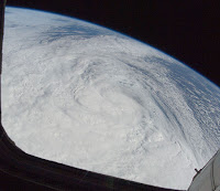 NASA image for Hurricane Sandy