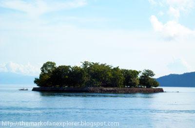 marorong islet balut island