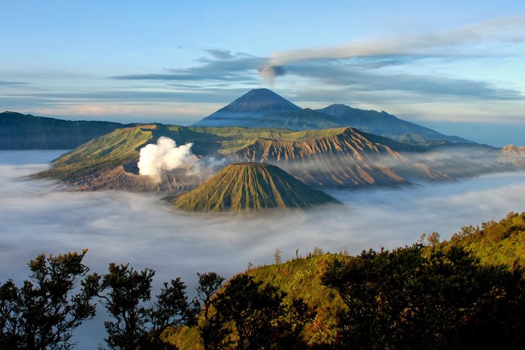 5 Gunung Berapi Terpopuler di Dunia