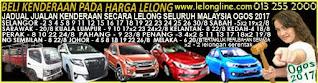 1-31/8/17 JADUAL 62 JUALAN KENDERAAN LELONG SELURUH MALAYSIA,SEKITAR KLANG VALLEY-SELANGOR/K LUMPUR