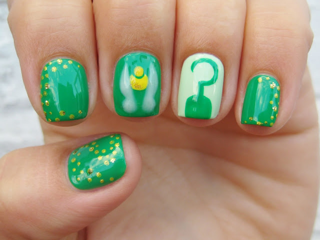 peter pan nail art
