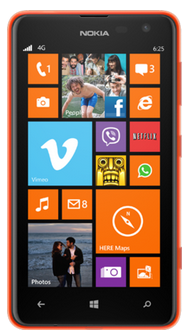 Nokia Lumia 625 Windows