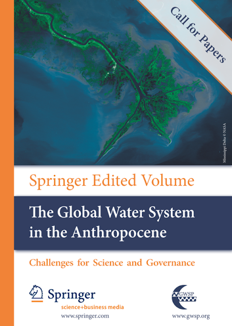 The Global Water System in the Anthropocene: Chamado para apresentação de papers