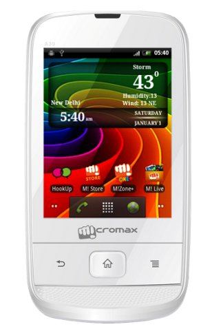 Micromax A54 Smarty 3.5 smart phone