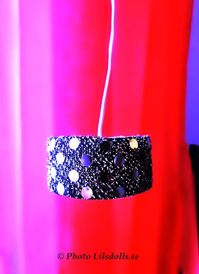 dollhouselamp, silverdollhouselamp, homemade