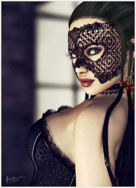 Fetish Inspirations : Delicious Lace Mask