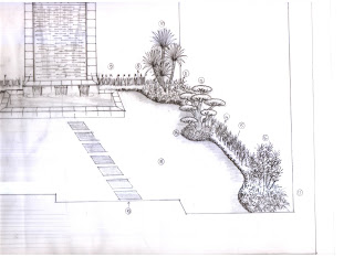 gambar minimalis taman belakang rumah