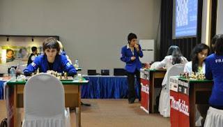 Nino Maisuradze (2315) © Chessdom