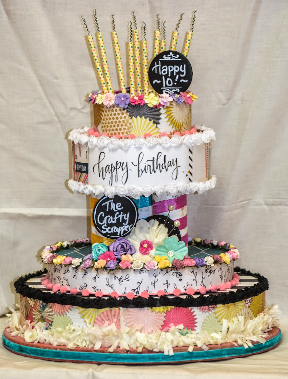 A Birthday Cake to Remember The Crafty Scrapper