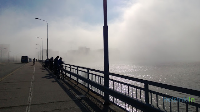 fog in Helsinki