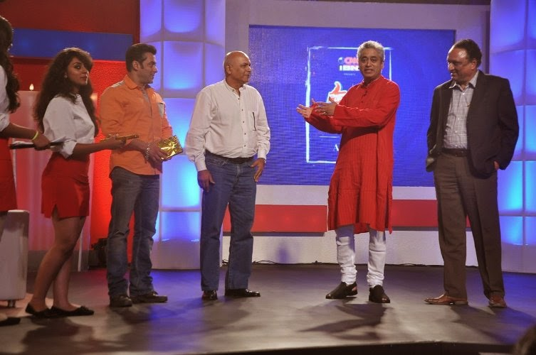 Salman Khan at Thums UP - Veer campaign's finale