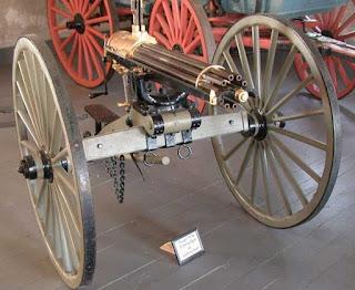 Ametralladora Gatling de 1876
